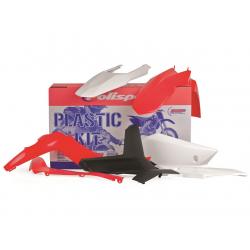 POLISPORT - Kit Plastiques Compatible Gas Gas 125 250 300 Ec 12-13 Couleur Origine