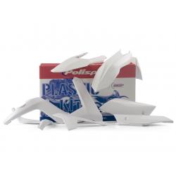 POLISPORT - Kit Plastiques Compatible Gas Gas 125 250 300 Ec 12-13 Blanc