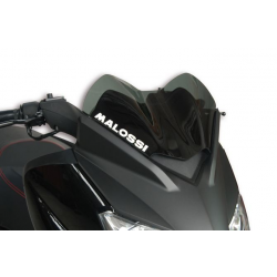 MALOSSI - Bulle Type Sport Fumée Compatible Yamaha X-Max 125/250 09-13 / Compatible Mbk 125 Skycruiser 09-13