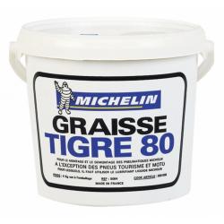 MICHELIN - Graisse De Montage Tigre 4Kg Pour Pneus Pl, Agricoles Et Génie Civil