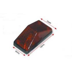 BIHR - Feu Arrière Moto Xr Rouge Universel