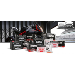 BS BATTERY - Batterie Moto 12V Sans Entretien activée usine BB10L-A2 SLA - 11,6Ah - L90Mm W133Mm H145Mm