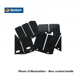 TECNIUM - Clapets Carbone Compatible Ktm Sx85 (2 Paires)