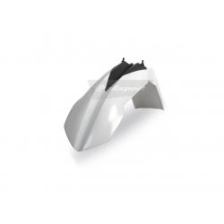 DESTOCKAGE - POLISPORT - Garde Boue Avant Blanc Type Compatible Ktm Sx/Sx-F 125&+ 07-12