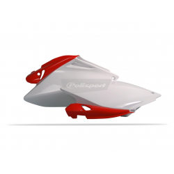 POLISPORT - Plaque Laterales Crf250R 06-09 Blanc/Rouge