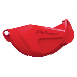 POLISPORT - Protection Carter Embrayage Crf250R 13-16 Rouge