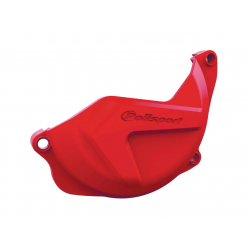 POLISPORT - Protection Carter Embrayage Crf450R 10-16 Rouge