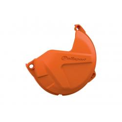 POLISPORT - Protection Carter Embrayage Sx125 09-15/Exc125 09-16 Orange