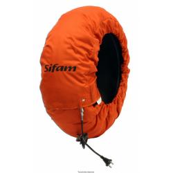 SIFAM - Couverture Chauffante Pneu Av 120 60 - 80° Pneus Avant En 120
