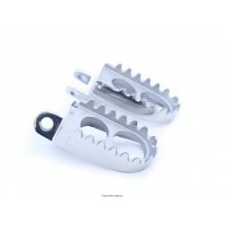 SIFAM - Repose Pieds Moto Acier Compatible Suzuki Rm 125/250 89-04