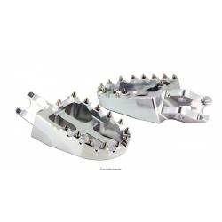 SIFAM - Repose Pieds Moto Alu Compatible Kawasaki Kx 250F/Kx 450F/Crf250/Crf150 Cr125/250 Aluminum 6061T6