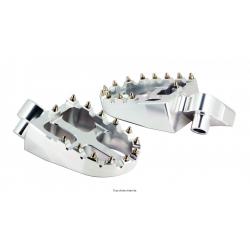 SIFAM - Repose Pieds Moto Alu Compatible Yamaha Yz250, Yz250F, Yz450F, Yz426F Aluminum 6061T6