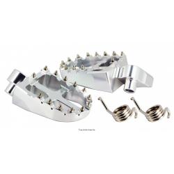 SIFAM - Repose Pieds Moto Alu Compatible Ktm Sx65,Sx/Exc125,Sx/Exc/Sxf 250 Sx/Exc300/450/520 Alum 6061T6