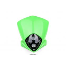 KYOTO - Plaque Phare Moto Verte 12V 20W