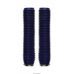 SIFAM - Soufflets De Fourche Moto Bleu Ø: 43/Ø59Mm - Longueur: 370Mm