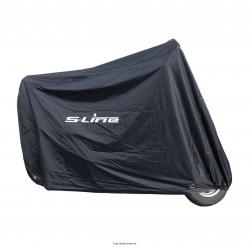S-LINE - Housse Protection Scooter Dimensions: 190 X 80 X 80Cm Scooter 50Cc - Matière Pvc