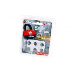 VECTOR - Pack De 6 Piles Lr44 1,5V - Antivol Moto Alarme