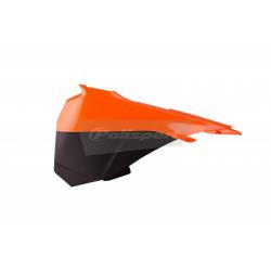 POLISPORT - Cache Boite Air Sx85 13-15 Orange/Noir Orig. 13-14