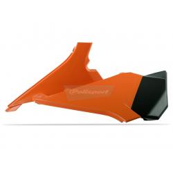 POLISPORT - Cache Boite Air Sx/Sx-F 125 &+ 11-12 Orange