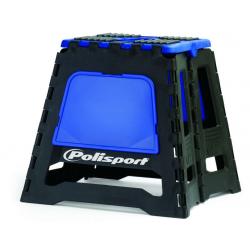 POLISPORT - Lève-Moto Pliable Bleu/Noir