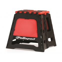 POLISPORT - Lève-Moto Pliable Rouge Cr/Noir