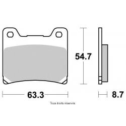 KYOTO - Plaquette De Frein Semi-Métal S1007
