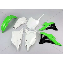 DESTOCKAGE - UFO - Kit Plastique Complet Compatible Kawasaki 85 Kx 14-20 / Oem Origine