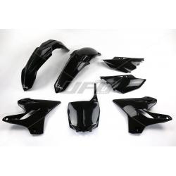 UFO - Kit Plastique Complet Compatible Yamaha 125 250 Yz 15-17 / Black Noir
