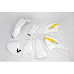 UFO - Kit Plastique Complet Compatible Husqvarna 125 Tc + 250 350 450 Fc 2015 / Oem Origine