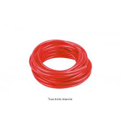 SIFAM - Durite Rouge Ø6Mm X 3 Mètres Souple