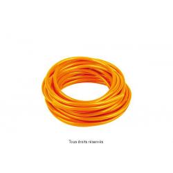 SIFAM - Durite Orange Ø6Mm X 3 Mètres Souple