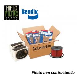 DESTOCKAGE - BIHR - Pack Entretien Compatible Suzuki Gsxr600 97-00 (Filtres Air Et Huile + Plaquettes Avant Et Ar)