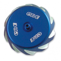 BUD RACING - Bouchon Réservoir Compatible KX 125-250 99-08, RM125/250 00-08, RMZ250 RMZ450 05-20 Bleu