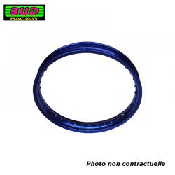 BUD RACING - Cerclage Jante 1.60 X 10 - 28 Trous / Bleu