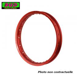 BUD RACING - Cerclage Jante 1.60 X 10 - 28 Trous / Rouge