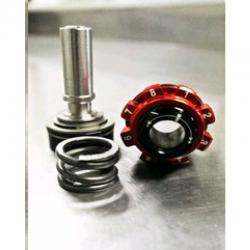 Bouchon réglage amortisseur BUD RACING Compatible KTM 125 250 350 450 SX SXF 04-10 + EXC EXCF 04-17