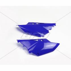 DESTOCKAGE - UFO - Plaques Latérales Bleu Compatible Yamaha 125 250 Yz 15-17