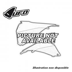UFO - Cache Boîte Air Gauche Noir Compatible Ktm 85 Sx 13-17