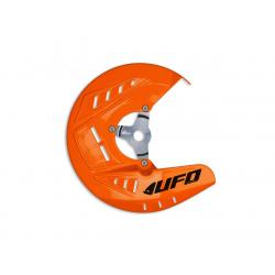 UFO - Protège Disque Avant Orange Compatible Ktm 125 250 350 450 Sx/Sxf 10-14 + Exc/Excf 10-46