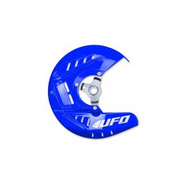 UFO - Protège Disque Avant Bleu Compatible Yamaha 250 450 Yzf 14-17