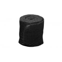 Bande thermique collecteur échappement ACOUSTA-FIL 50mm x 7,5m 550°C noir café racer