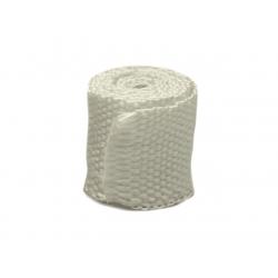 Bande thermique collecteur échappement ACOUSTA-FIL 50mm x 7,5m 550°C blanc café racer