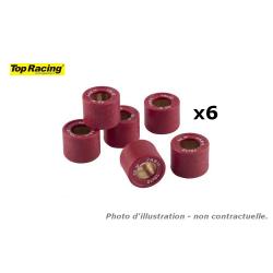 TOP RACING - Jeu De 6 Galets 20X17- 11 5Gr