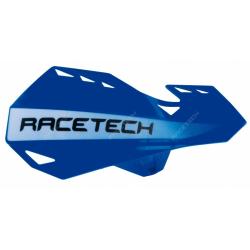 RACETECH - Protèges Mains Dual Moto Cross Bleu