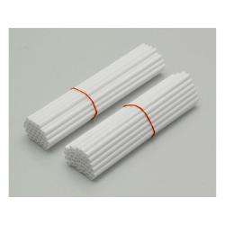 ART - Couvre Rayon Blanc Pour Roue Avant 21 /Roue Arrière 18 -19