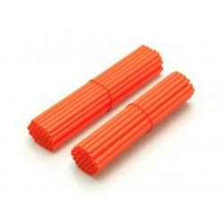ART - Couvre Rayon Orange Pour Roue Avant 21 /Roue Arrière 18 -19