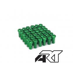 ART - Kit Têtes De Rayon Universel Anodisées Vert