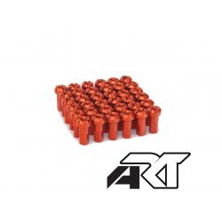 ART - Kit Têtes De Rayon Universel Anodisées Orange