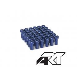 ART - Kit Têtes De Rayon Universel Anodisées Bleu