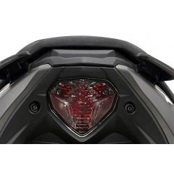 B1 - Feu Arrière Moto À Led Compatible Yamaha Yq Aerox / Compatible Mbk Nitro Naked 2013
